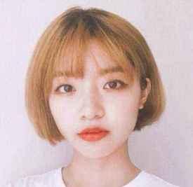 韩国齐耳短发发型 绝对能让喜欢到尖叫