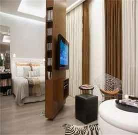 电视墙的设计样式 美观实用的电视墙设计图案