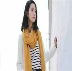 冬季围巾流行趋势 三款今年最流行的色系搭配