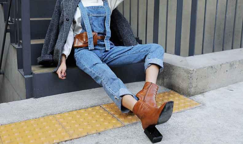 冬天牛仔裤配什么鞋子好看 加足时髦指数