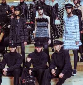 Chanel2018早秋系列服装发布