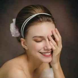 短发新娘发型教程 帮你打造简约浪漫短发新娘