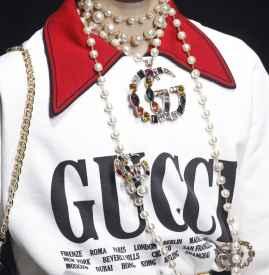 Gucci2018春夏 充满了艺术气息