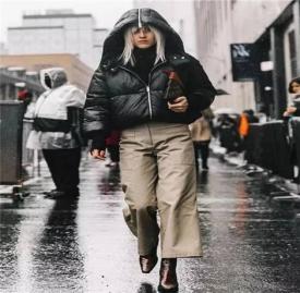 冬季阔腿裤搭配 让你整个冬季既时髦又保暖