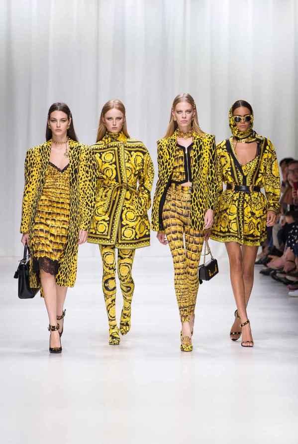 versace2018春夏 美出新高度