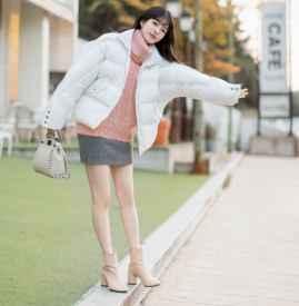 冬天穿裙子配什么鞋子 优雅甜美随意切换
