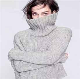 高领毛衣搭配 今年最火的高领毛衣这样穿才够美