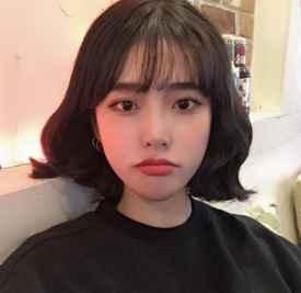 韩系短发烫发发型 真心让人喜欢到不行