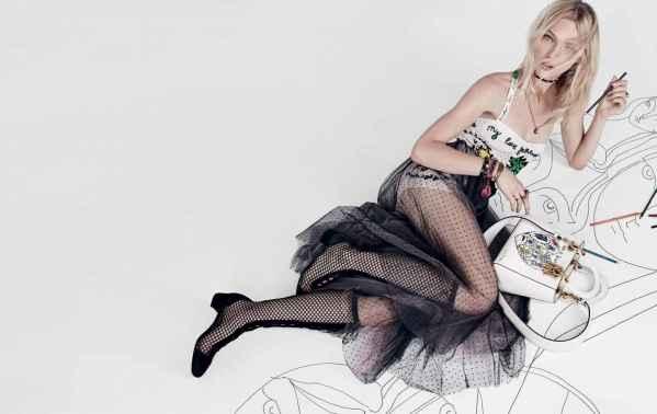 """Dior2018春夏大片 发问""""为什么没有伟大的女艺术家"""""""