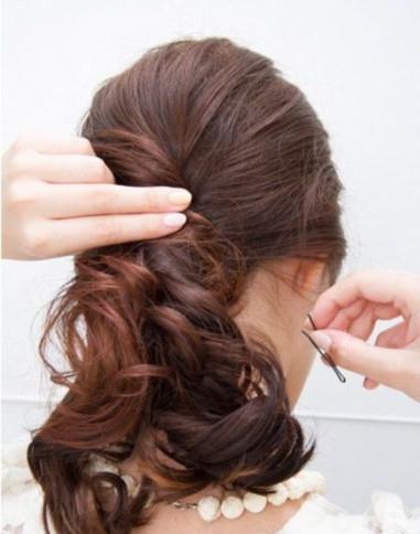 三十岁女人适合什么发型 优雅气质扎发值得入手