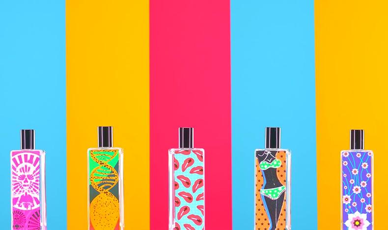 波普元素颜控最爱香水