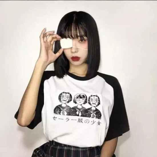 日式公主切短发 非常有个性的一款短发