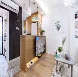 小户型60平米装修 60㎡欧两居室装修设计