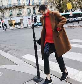 红色毛衣配什么颜色外套 五款颜色88必发国际温暖冬季