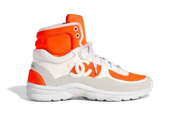 Chanel 释出2018早春运动鞋系列