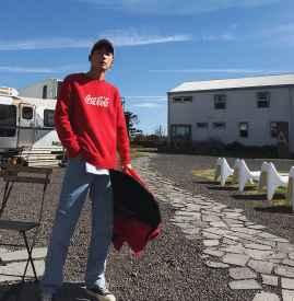 红色毛衣配什么裤子男 三种88必发国际娱乐官网将帅气与时尚兼具