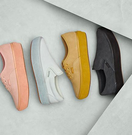 Vans 将经典厚底鞋型换上迷人新色
