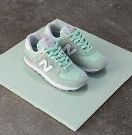 New Balance 为 574 经典鞋款穿上少女糖衣