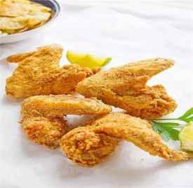 炸鸡翅的家常做法 不要一滴就能炸出美味鸡翅