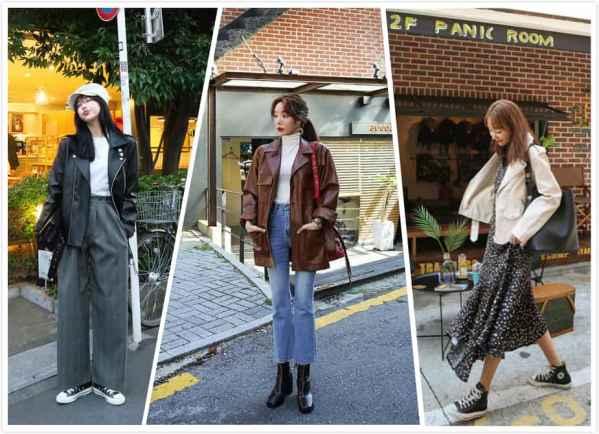 <b>韩版皮衣搭配图片女生 穿出不一样的个性</b>