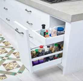 厨房收纳技巧 厨房这样做收纳瞬间高大上