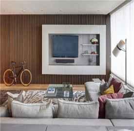 电视墙装修设计图片 2018年电视墙流行这样设计