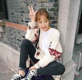 空气刘海的发型 甜美刘海让人很喜欢
