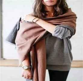 冬季大围巾搭配方法 七种围巾搭配要点介绍