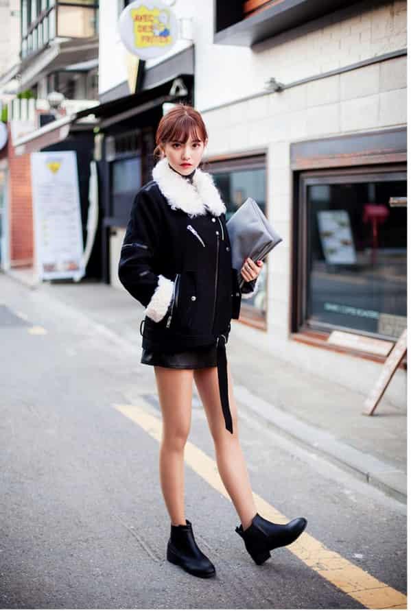 羊羔绒外套配什么裤子好看  这几款穿搭让你年底美个够