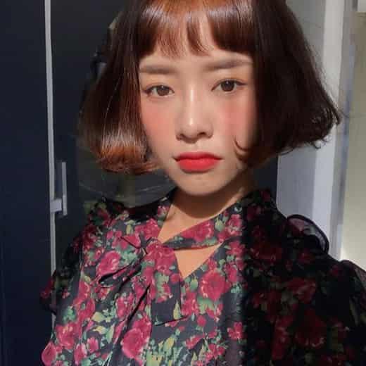 短发2018流行颜色 染发后的短发竟这么美