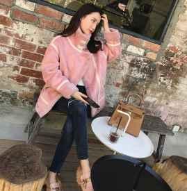 粉色外套搭配图片 安利这波粉色外套