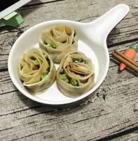 饺子包成玫瑰花 浪漫玫瑰花饺子的包法