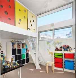 书房儿童房一体效果图 让小孩拥有属于自己的空间