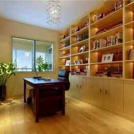 书房榻榻米装修效果图 你的书房需要一个榻榻米