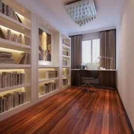 书房窗帘效果图 书房窗帘这样设计才漂亮