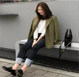 黑色拼色牛仔裤款式 2018最近受欢迎的牛仔裤