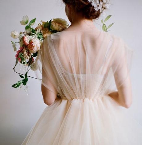 婚纱什么穿_鞠婧祎穿婚纱的照片