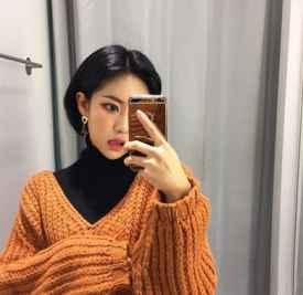 2018年短发发型图片 剪完秒变韩国小姐姐
