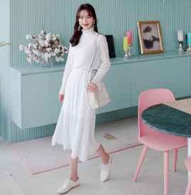白色连衣裙长裙配什么鞋 各种混搭加足时髦指数