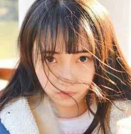 日系元气妆容画法 橙色的元气少女