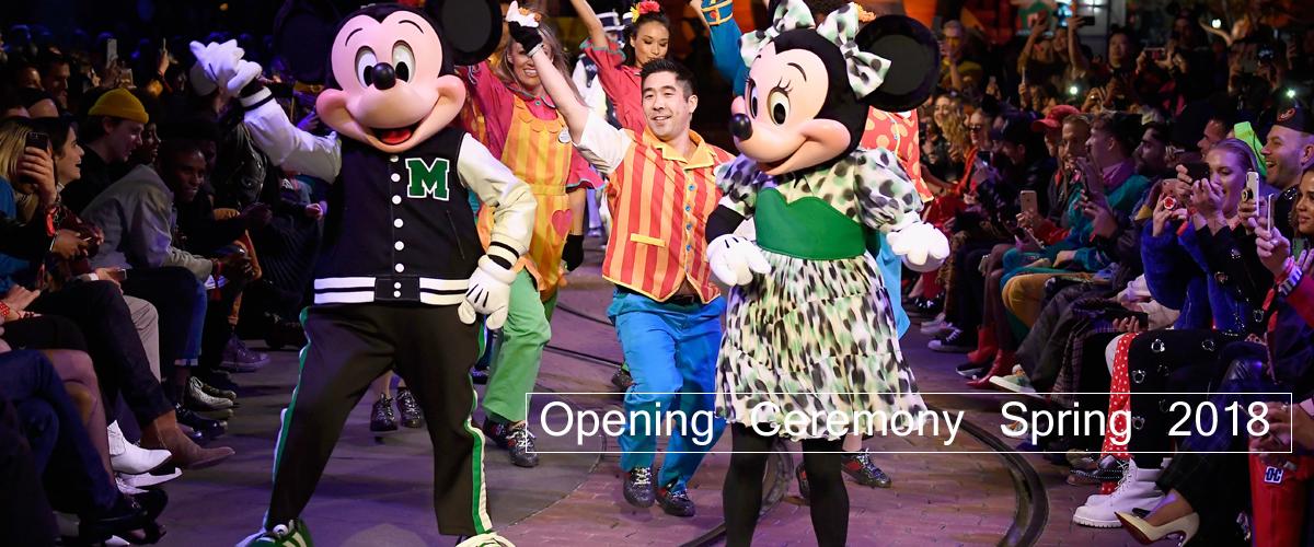 在这个季节跳过纽约时装周,Opening Ceremony将于2018年春季在世界上最快乐的地方——迪斯尼乐园举行。