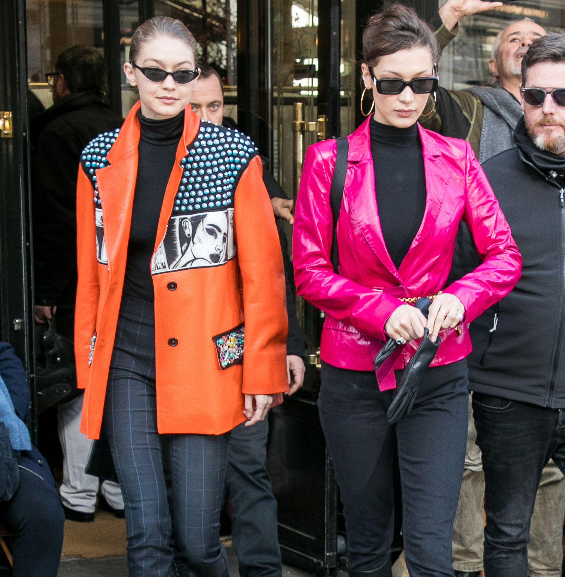 """Bella Hadid街拍 一Ψ 起做一个""""Cool Girl"""""""
