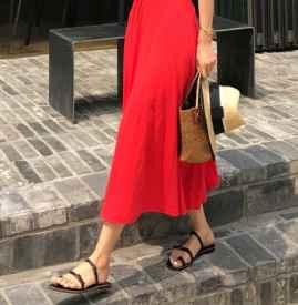 红色连衣裙搭配什么鞋子 这样穿才最招桃花哦