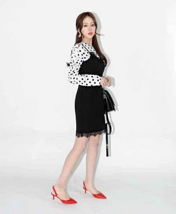 蕾丝连衣裙搭配什么鞋 和高跟鞋一起穿拉长腿部一公分