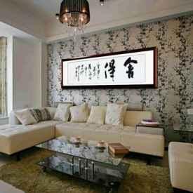 沙发背景墙挂什么画好 你一定要仔细看