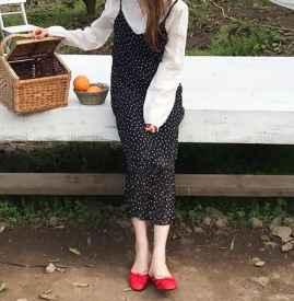 波点连衣裙怎么88必发国际 这5类鞋子88必发国际让你充满少女感