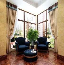 阳台窗帘用什么颜色好 怎样选择合适的阳台窗帘