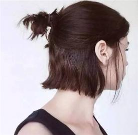 短发怎么扎简单好看 几款短发扎发教程图解