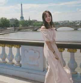 一字肩连衣裙如何88必发国际 夏日这样88必发国际充满少女感还招桃花