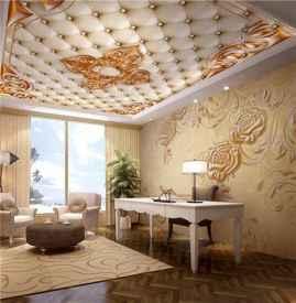 墙纸可以贴天花板吗 贴天花板有什么优缺点